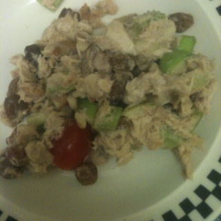 Chicken Apple Salad Sandwich