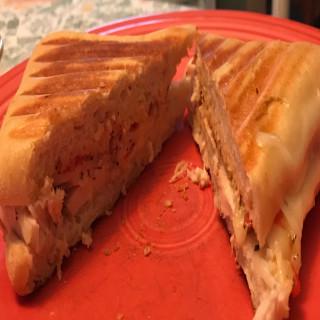 Chicken Bruschetta Panini