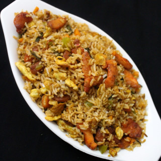chicken fried rice recipe | chinese fried rice