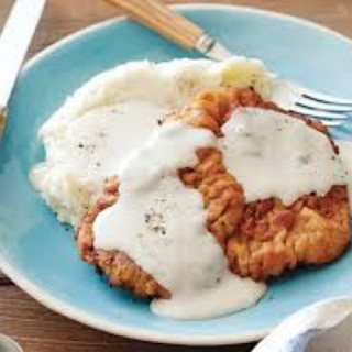 Chicken-Fried Steak with Southern Gravy