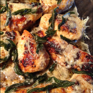 Chicken in Browned Butter Sage Sauce