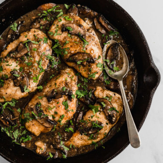 Chicken Marsala (Whole30, Paleo, AIP)