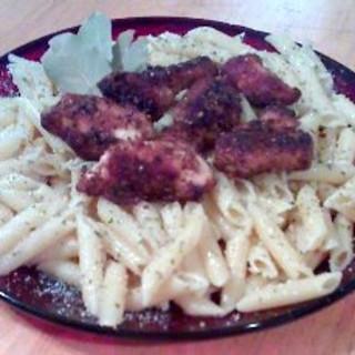 Chicken Scampi W/linguini