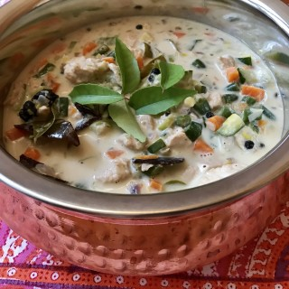 Chicken Vegetable Stew from Kerala South India in Syrian Christian Style