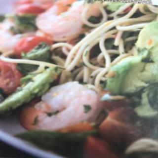 Chilli Prawn Spaghetti