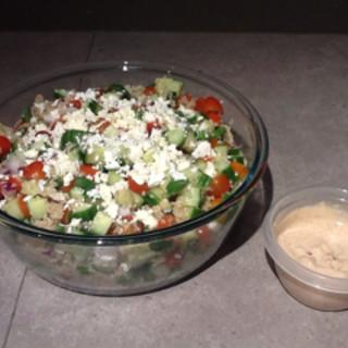 Chipotle Veggie Quinoa  Salad