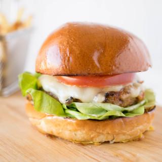 Chipotle chicken burger