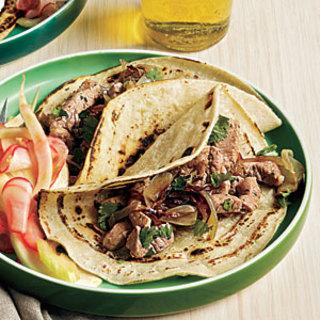 Chipotle Pork Tacos