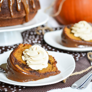 Chocolate Chunk Pumpkin Cake