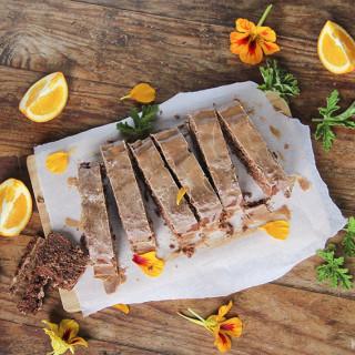 Chocolate Orange Gingerbread Cake - gluten-free, vegan and naturally sweete