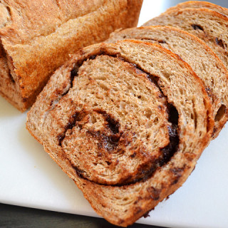 chocolate cinnamon swirl bread