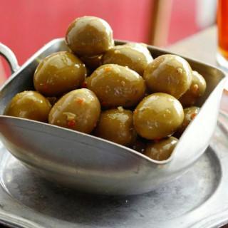 Citrus Marinated Olives