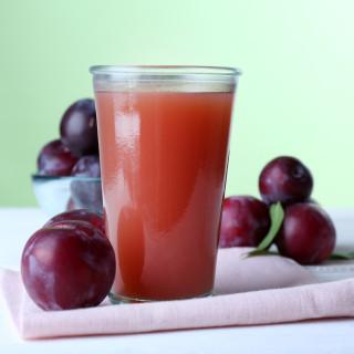 Cleansing Plum Juice