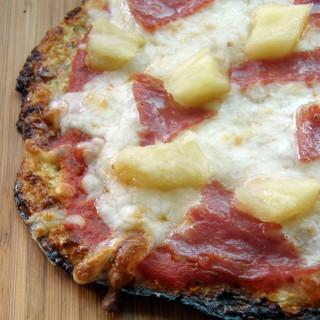 Cómo hacer masa de pizza de coliflor [sin gluten]