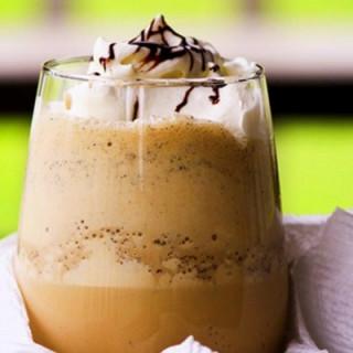 Coffee and chocolate milkshake