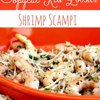 Copycat Red Lobster Shrimp Scampi Recipe