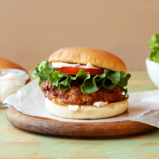 Copycat Wendy's Spicy Chicken Fillet Sandwich