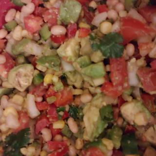 Corn Avacado Salad