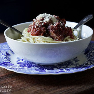 Cousin Alfred's Meat Sauce