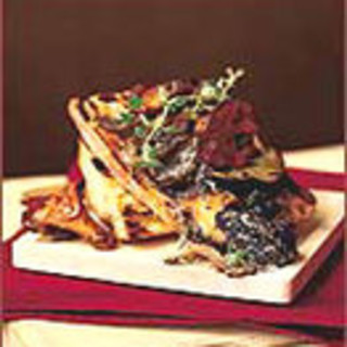 Creamed Wild Mushrooms on Toast with Thyme