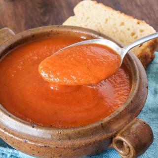 Creamy Gluten Free and Dairy Free Tomato Soup