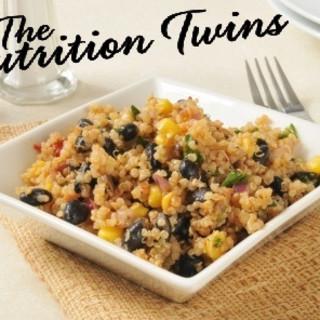 Creamy Spinach & Black Bean Quinoa