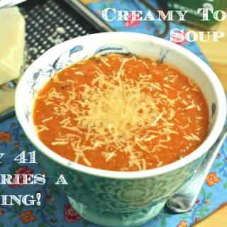 Creamy Tomato Soup (Vegan/Low Fat/Paleo/Low Sodium)