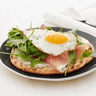 Crispy Breakfast Pita