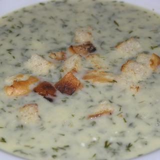Croatian dill soup