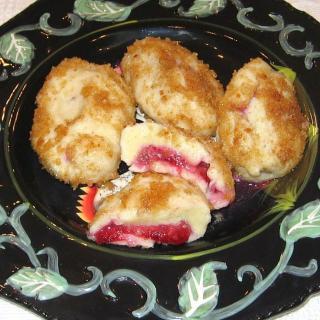 Croatian Plum Dumplings Are Rolled in Buttery Bread Crumbs