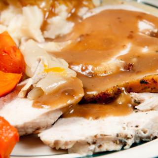 Crock Pot Roast Turkey Breast and Turkey Gravy