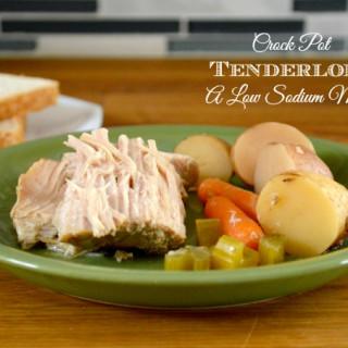 Crock Pot Tenderloin: A Low Sodium Meal