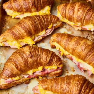 Croissant Breakfast Sandwich