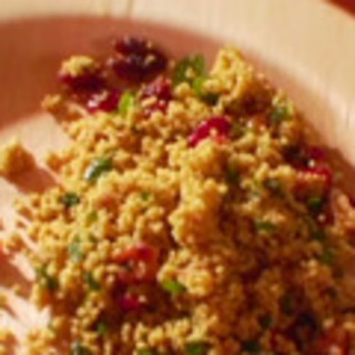 Curried Couscous Salad with Dried Sweet Cranberries
