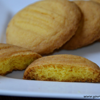 Custard Cookies (Eggless)