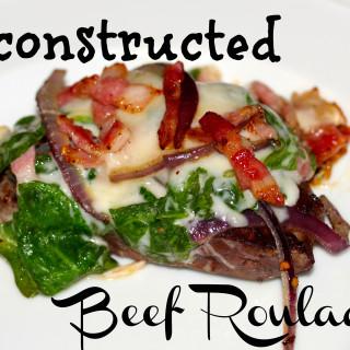 Deconstructed Beef Rouladen