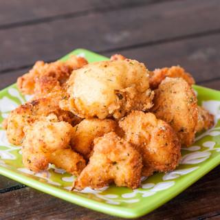 Deep Fried Cauliflower