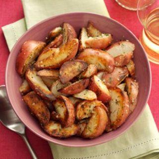 Dill Potato Wedges Recipe