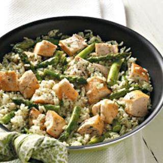 Dilled Chicken and Asparagus Recipe