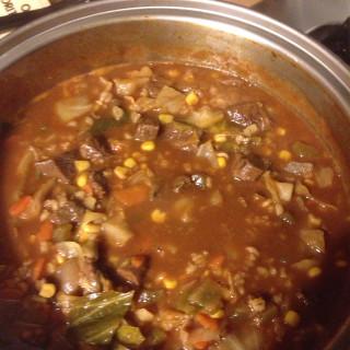Doris Xmas Vegtable Beef Soup