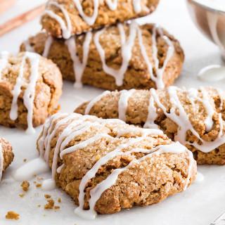 Double Gingerbread Scones