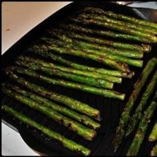Drunken Grilled Asparagus