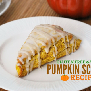 EASY Gluten Free & Vegan Pumpkin Scone Recipe - Starbucks Copycat