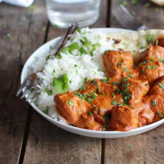 Easy Healthier Crockpot Butter Chicken