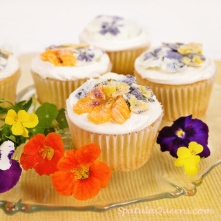 Edible, Candied Flowers