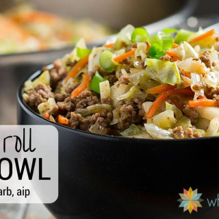 Egg Roll in a Bowl - low carb, gluten free, AIP option