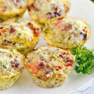 Egg Tin Muffin Breakfast