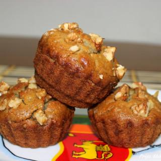 Eggless Banana Muffin / Vegan Banana Muffins