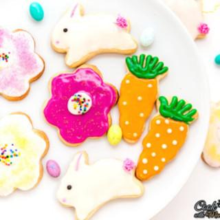 Eggless Easter Sugar Cookies