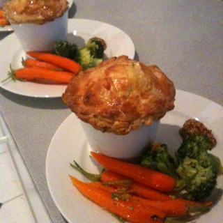 English Lamb Pie with Flaky Pastry